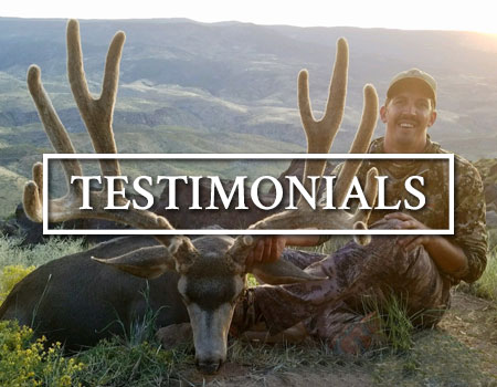 Shadow Valley Outfitters Testimonials